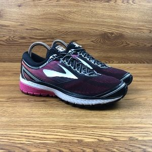 Brooks Ghost 10 Pink Athletic Road Running Shoes